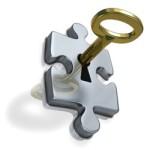 ключ в пазле